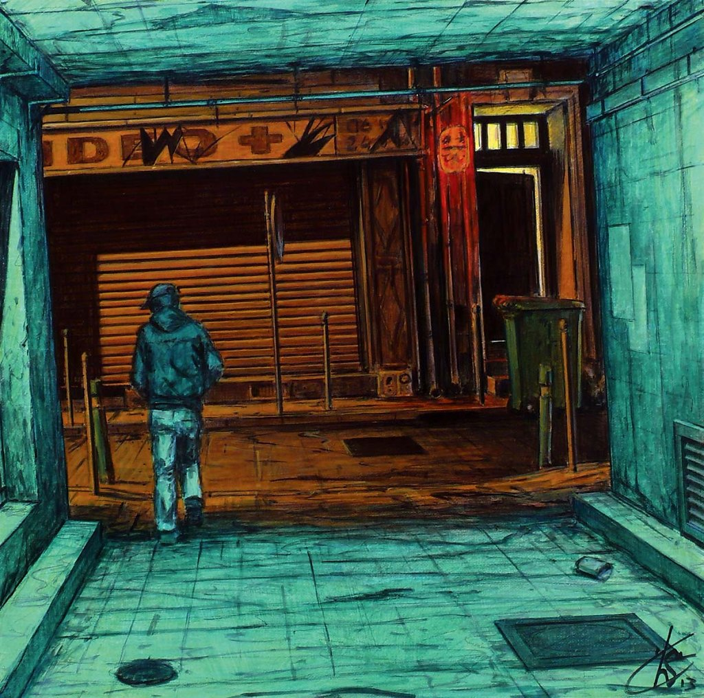 """Passage"" 40X40 2013"