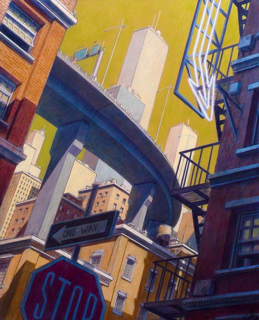 Paysage urbain 100X81 2012.