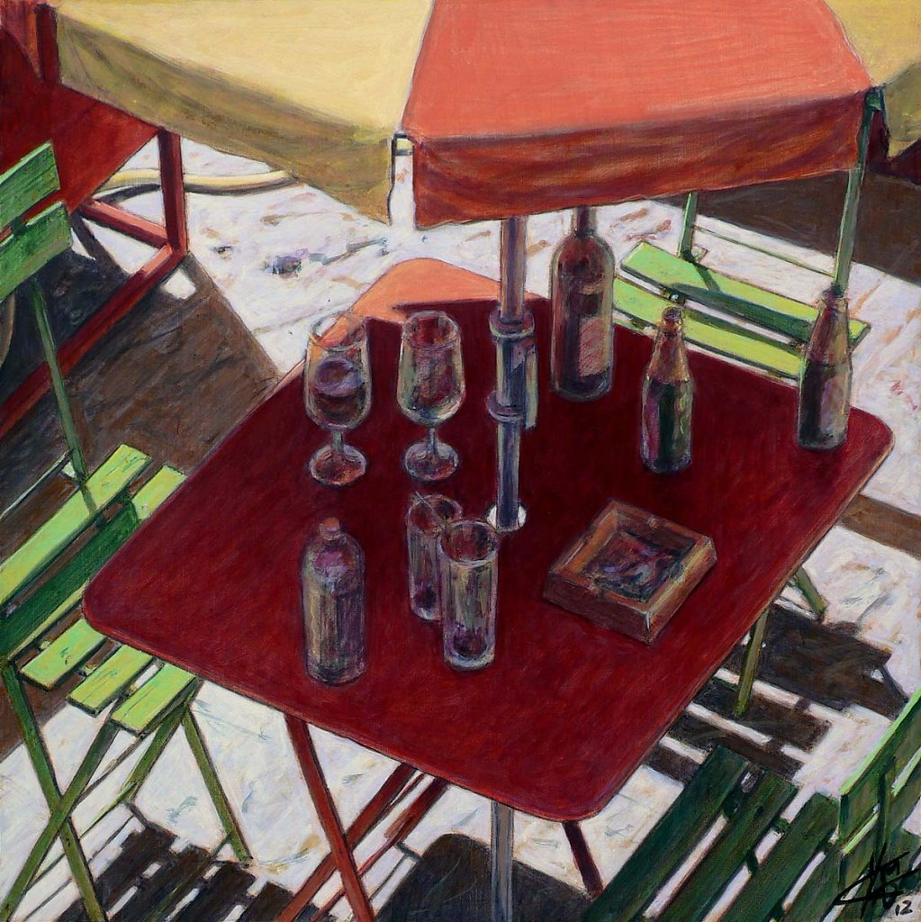 Table-rouge 40X40 2012.