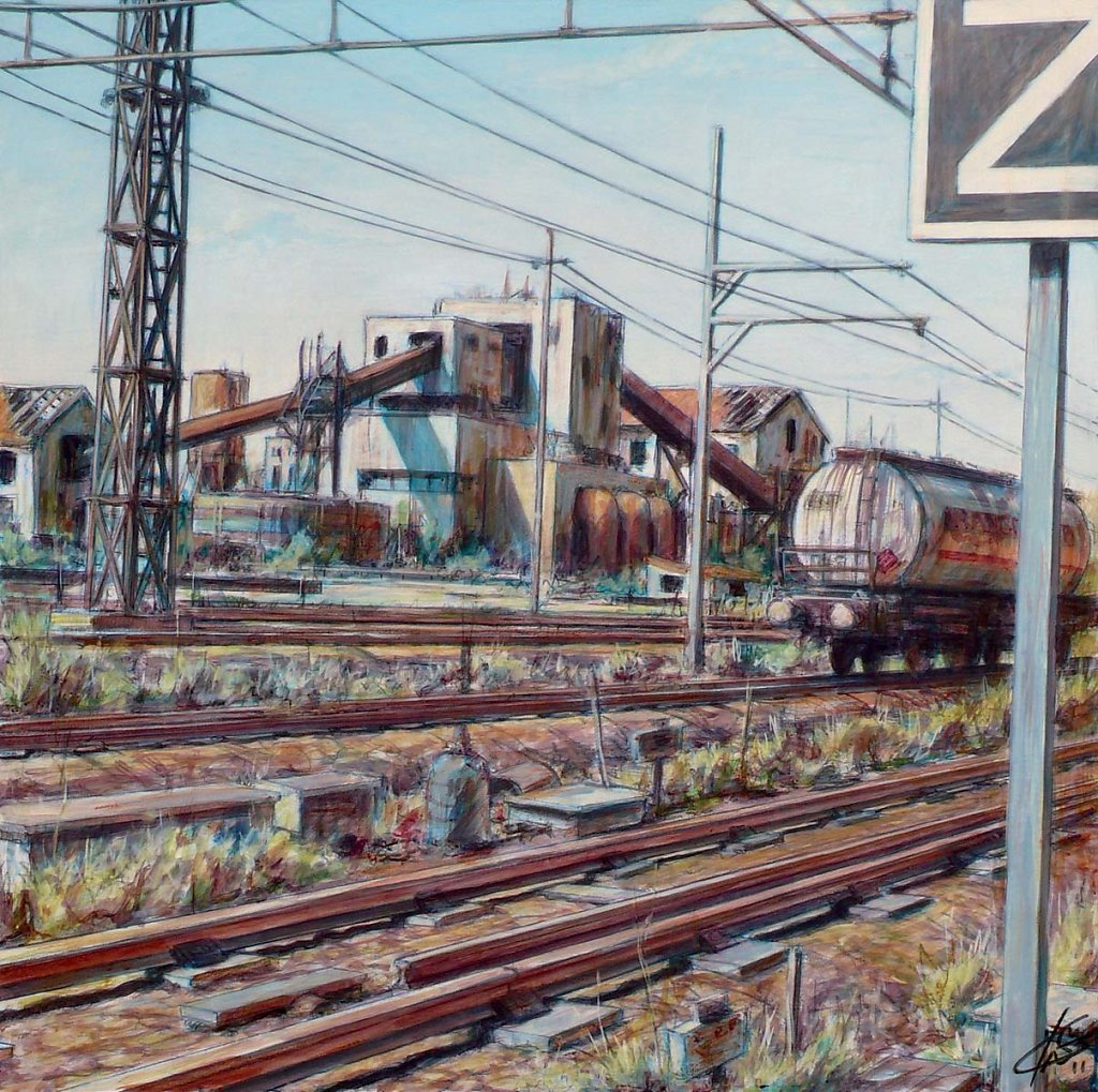 Les voies 60X60 2011