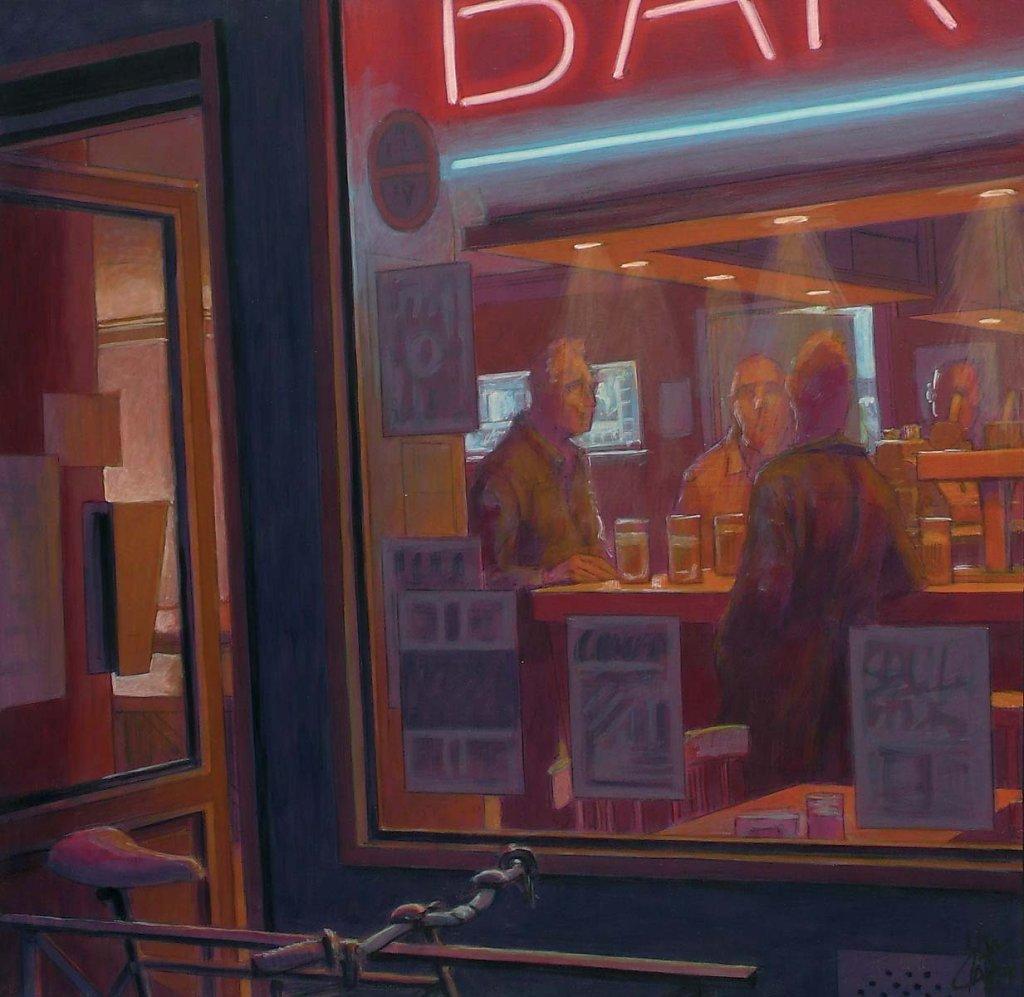 Bar de nuit 60X60 2009