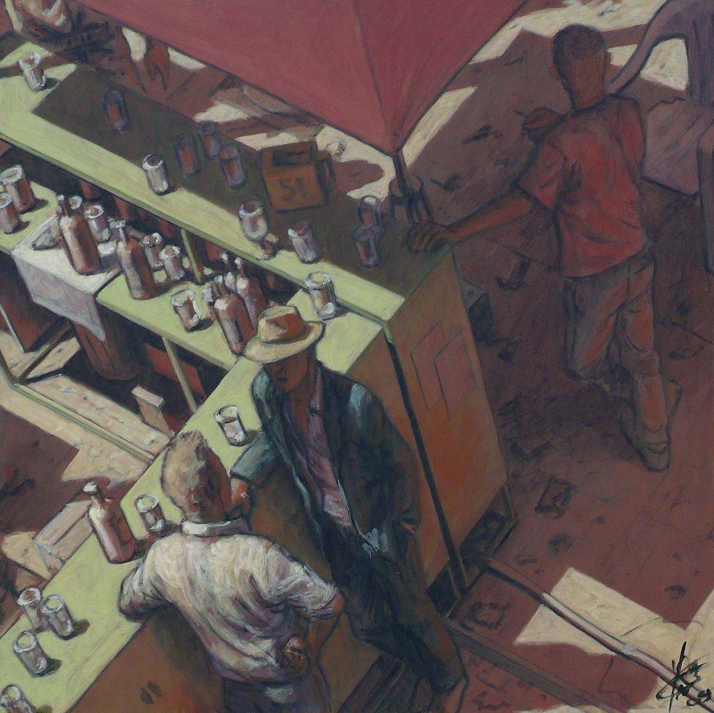 Comptoir Feria 40X40 2009