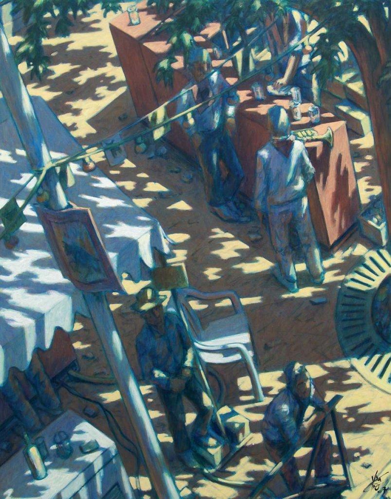 Boulevard feria 92X73 2007