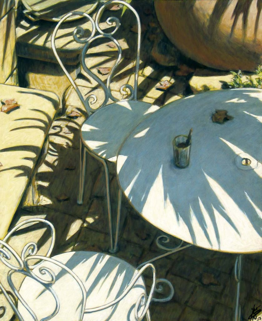 Les chaises de jardin 73x60 2007