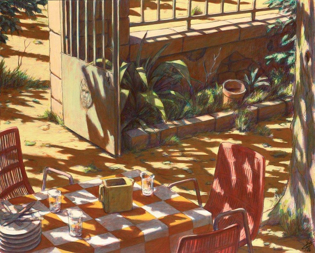 Portail vert 81x100 2006