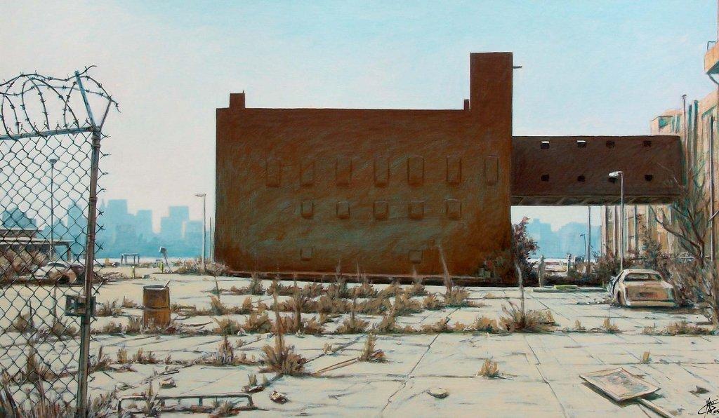 Friche à New York 114x195 2005