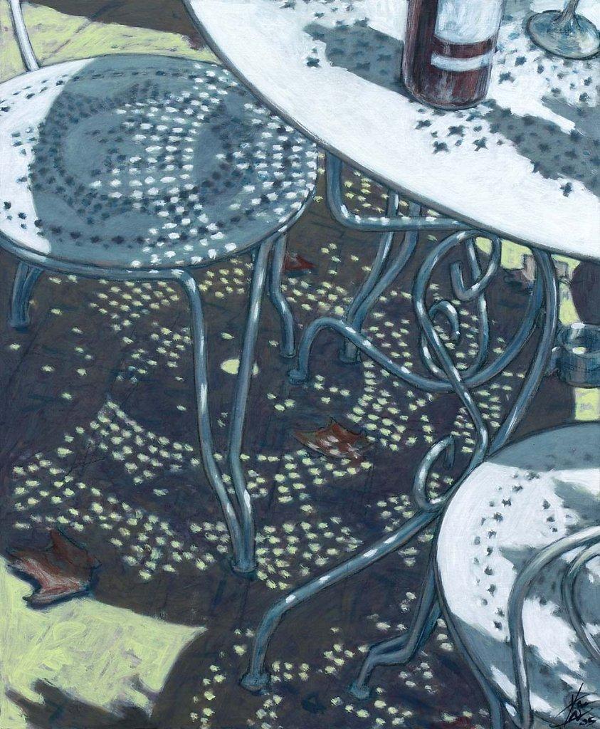 Table de jardin 73X60 2005
