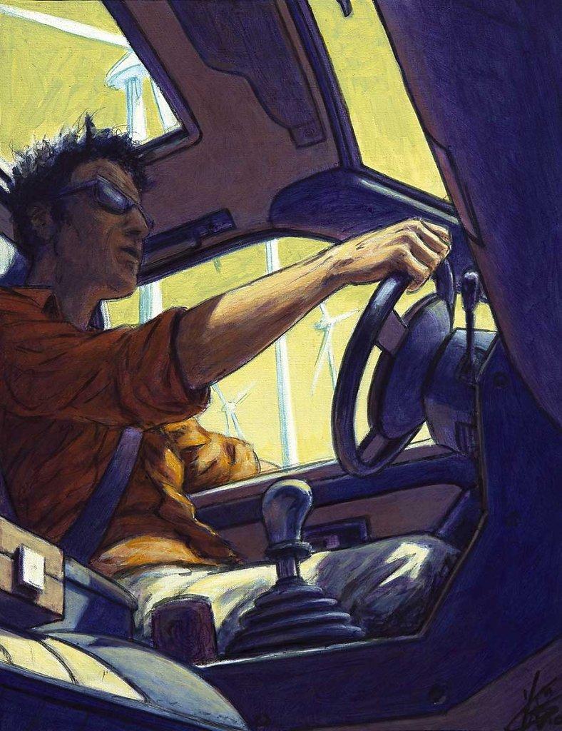 """"""" En voiture """" 35X272010"""