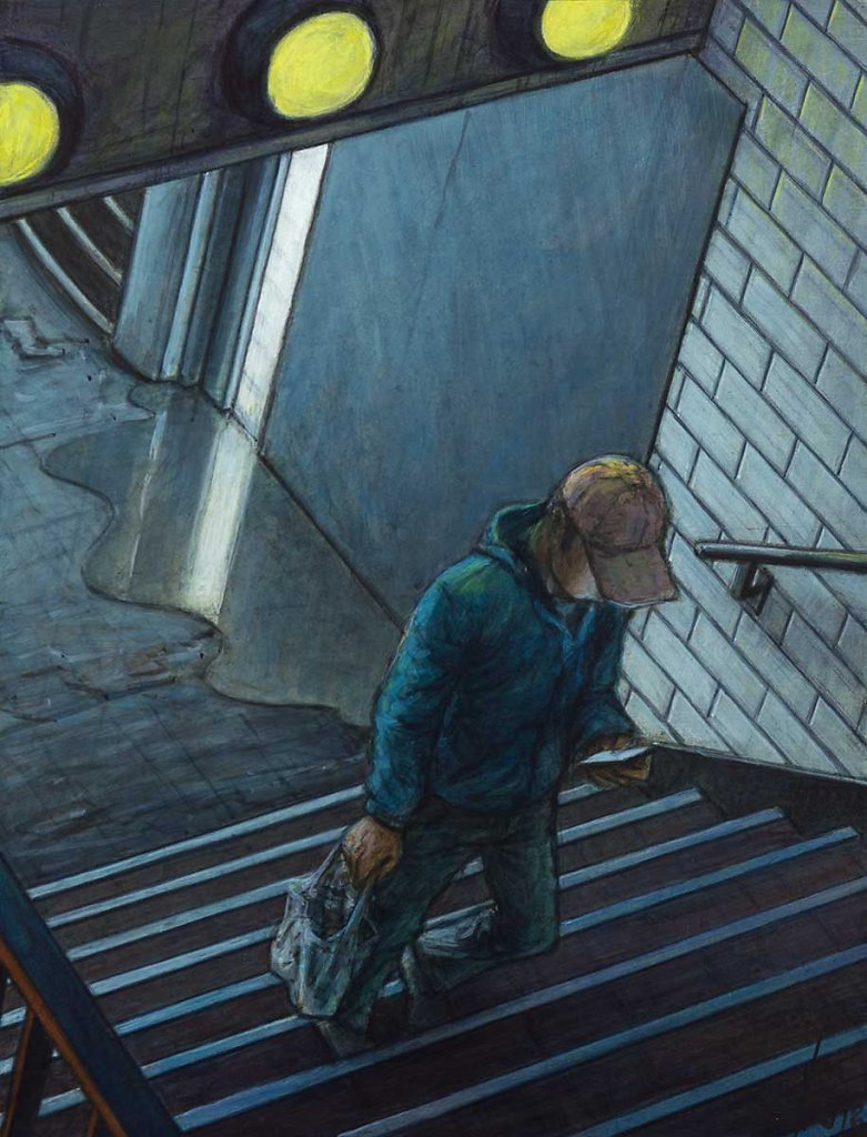 """""""Metro"""" 35X27 - 2018"""